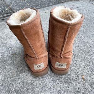 Brown Uggs size 7 dupe